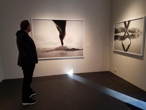 Foto fra utstillingen; Siri Wolland