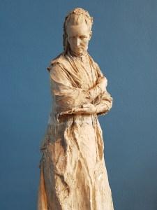 Gustav Vigeland. CamGustav Vigeland. Camilla Collett 1909. Vigeland-museet i Oslo. Foto fra utstillingen: Siri Wolland