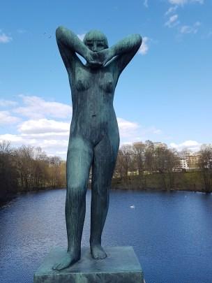 Vigelands skulpturer i Frognerparken. Foto Siri Wolland