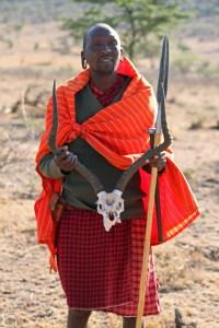 Masai. Masai Mara, Kenya. Foto: Siri Wolland