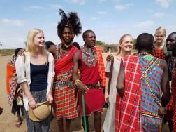 Masaimøte. Masai Mara Kenya. Foto: Siri Wolland