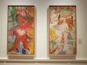 """Willem de Kooning, """"Untitled"""", 1970-71. Foto fra utstillingen: Siri Wolland."""