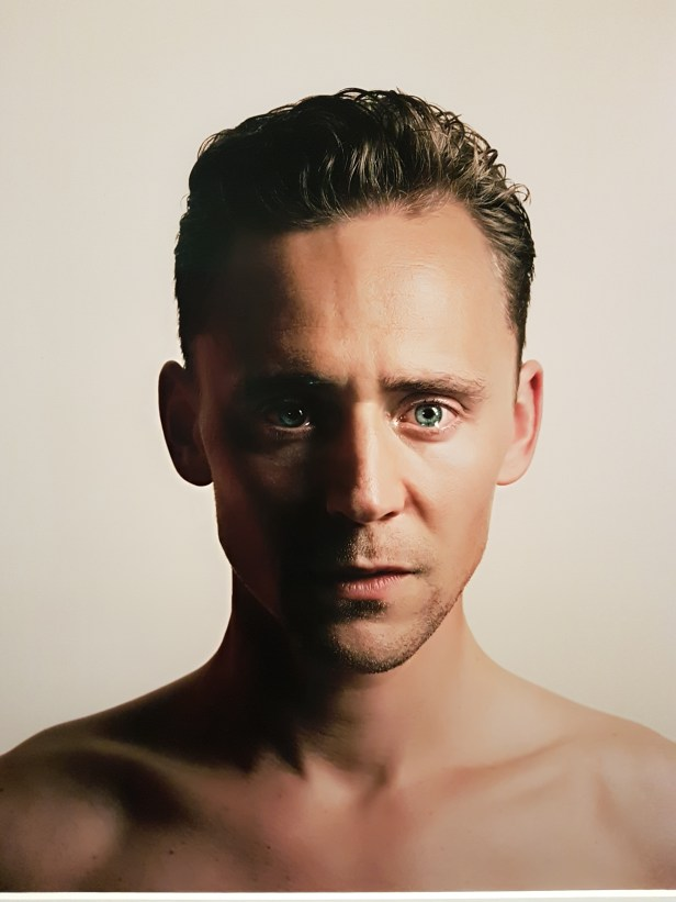 Spencer Murphy (f.1978), Tom Hiddleston, Actor. Foto fra utstillingen: Siri Wolland.