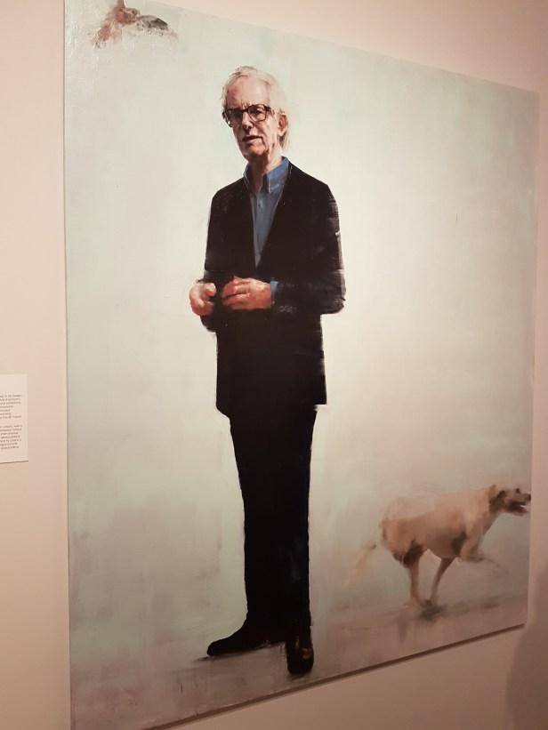 Richard Twose (f.1962), Ken Loach. Foto fra utstillingen: Siri Wolland