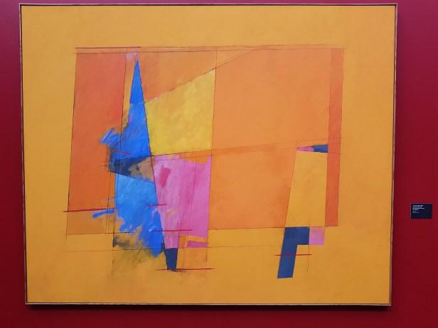 Irma Salo Jæger (1928), Lyset brer seg, 1994. Foto fra utstillingen: Siri Wolland.