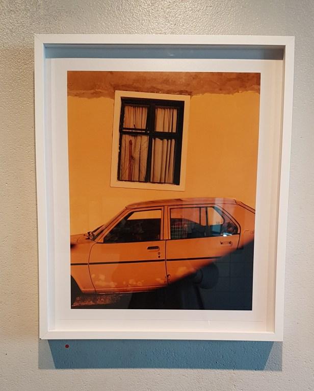 Fotograf Andrew Jacobs, Windows. Frogner stasjon, foto fra utstillingen: Siri Wolland.