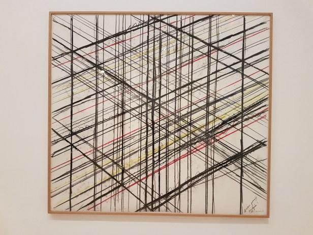 """Bruce Nauman, """"Dreampassage"""", 1983, fra utstillingen Disappearing Acts, MOMA, New York, 2018. Foto fra utstillingen: Siri Wolland."""