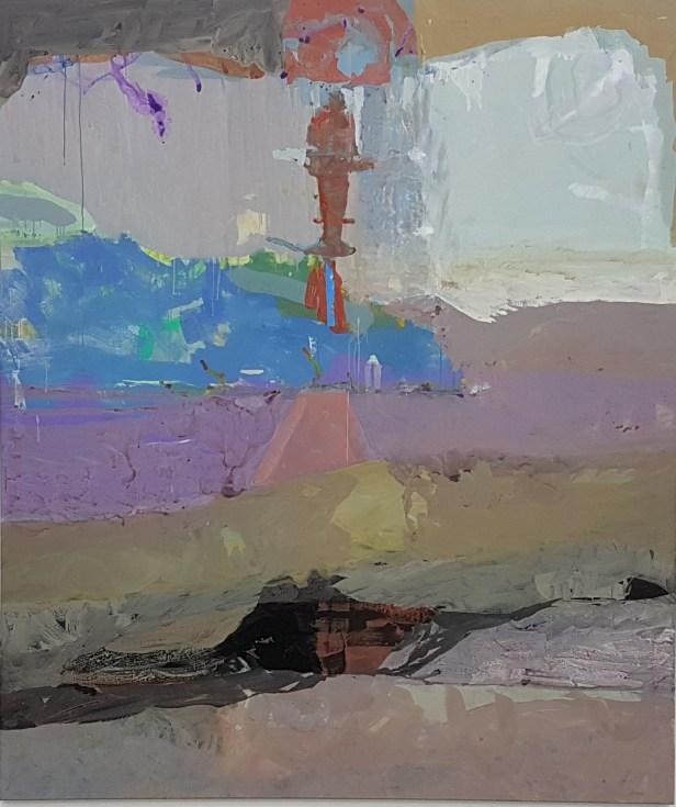 """Fra utstillingen """"Kystverket"""", Mari Slaattelid. 2019. Bergen Kunsthall. Foto fra utstillingen; Siri Wolland"""