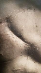 Nærbilde av Andy Warhol, 1969. Fra utstillingen Avedons Amerika, Henie Onstad kunstsenter. Alle fotografier Richard Avedon. Foto fra utstillingen; Siri Wolland.