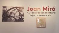 Foundation Maeght i St Paul de Vence, og utstillingen Joan Miró. Au-delà de la peinture. Foto Siri Wolland.