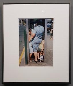 Foto Helen Levitt, New York 1988. Foto fra utstillingen; Siri Wolland.