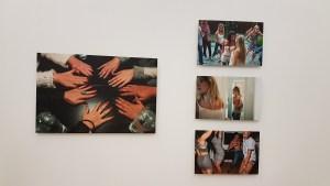 Fotograf Anne Stine Johnsbråten, Serien Eastside/Westside, 2013-2015. Foto fra utstillingen; Siri Wolland.