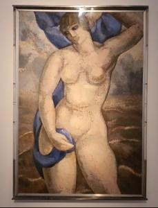 Alfredo Guttero (1882-1932) Allegory of Rio de la Plata, 1928. Foto fra utstillingen Siri Wolland.