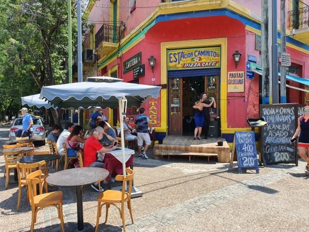 La Boca, en fargerik bydel i Buenos Aires. Foto Siri Wolland.