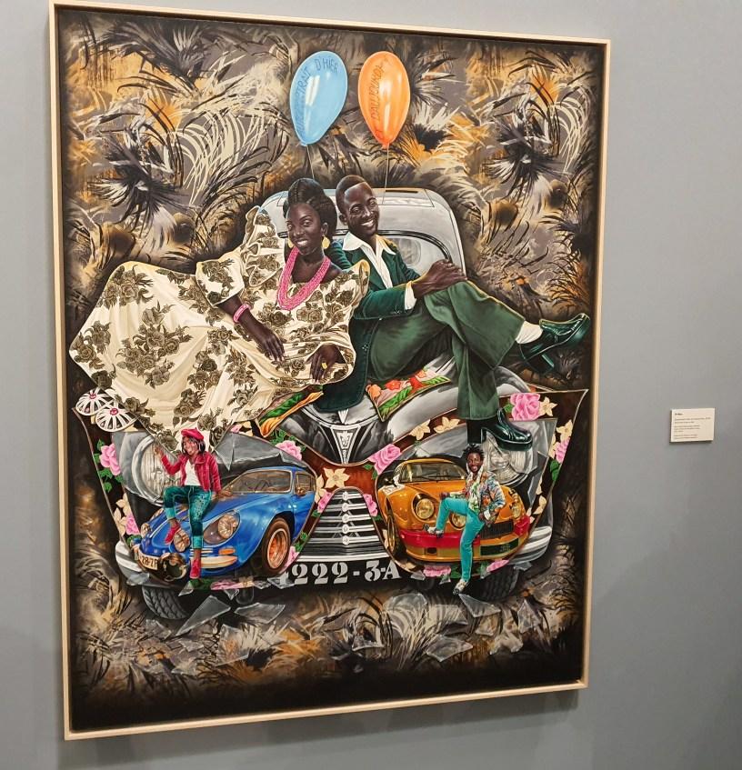 JP Mika, Autoportrait d`hier et d`aujourdhui, 2019. Foto fra utstillingen Siri Wolland.