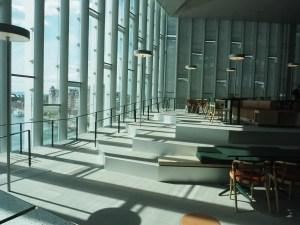 Deichman Bjørvika, av arkitektene Lund Hagem og Atelier Oslo, 2020. Foto Siri Wolland.
