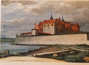 Malt av Jacob Coning, 1699. Nasjonalgalleriet. Avfotografert fra boken Akershus, Vårt riksklenodium 700 år. Aschehoug forlag.