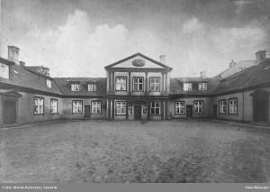 Mangelsgården. Foto Severin Worm-Petersen. Oslo Museum.