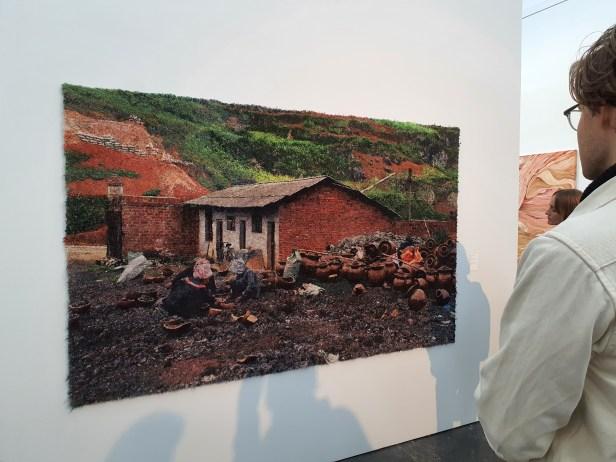"""Jorunn Irene Hanstvedt, """"time and value"""", 2020. Foto fra utstillingen Siri Wolland"""
