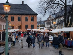 Julemarked på Folkemuseet. Foto: Siri Wolland