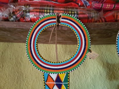 Masai-smykke fra Basecamp. Foto: Siri Wolland