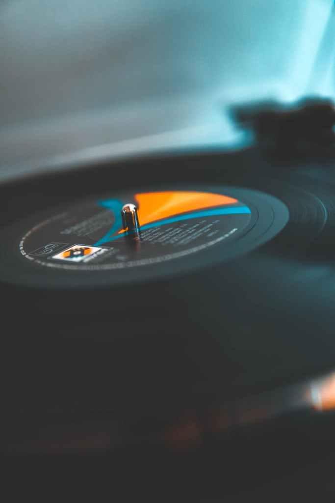technology blur music motion