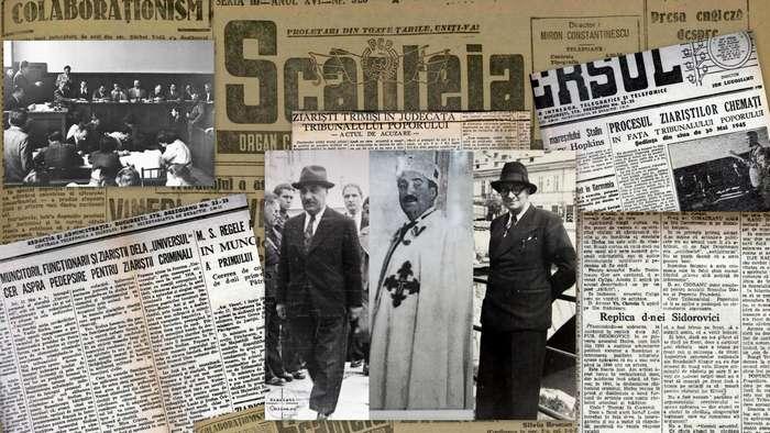 4 iunie 1945 – Condamnarea la moarte a ziaristilor patrioti romani de catre sotia lui Brucan
