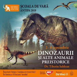 muzeul antipa, dinozauri, animale preistorice