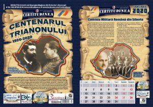 calendar certitudinea 2020, certitudinea, comisia militara romana din siberia