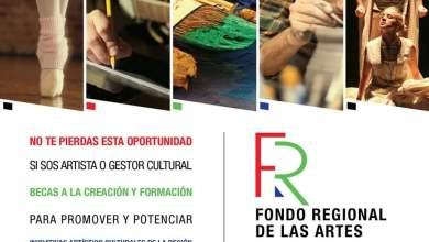 Photo of Lanzamos el Fondo Regional de las Artes.