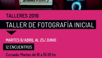 """Photo of """"Taller de fotografía inicial"""" a cargo de Emilio Guerrero"""