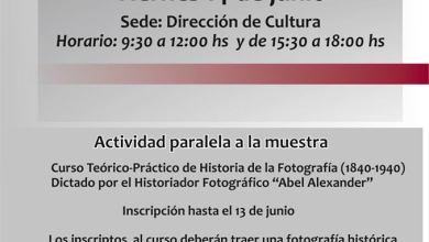 Photo of Curso Teórico-Práctico sobre Historia de la Fotografía