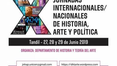 """Photo of Muestra de afiches """"10 años Jornadas de Historia, Arte y Política"""""""