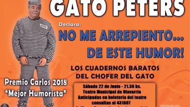 """Photo of Gato Peters en """"No me arrepiento de este humor"""""""