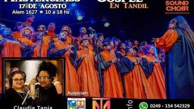 Photo of Masterclass de Música Gospel en Tandil