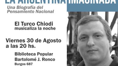 """Photo of Presentación del libro """"La Argentina Imaginada"""