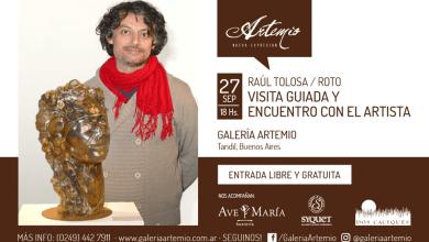 Photo of Encuentro con el artista en Artemio