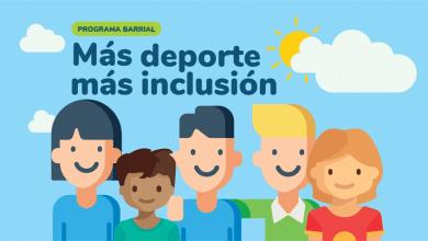 """Photo of """"Más deporte, más inclusión"""""""
