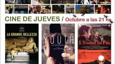 Photo of Cine de Jueves en olavarría