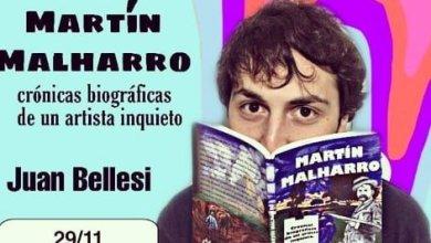 """Photo of Presentación del libro """"Martín Malharro crónicas biográficas de un artista inquieto"""""""