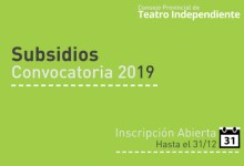 Photo of Subsidios del Consejo Provincial de Teatro Independiente