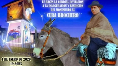 Photo of HOMENAJE AL CURA BROCHERO