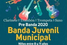 Photo of Banda Juvenil Municipal- inscripción pre banda