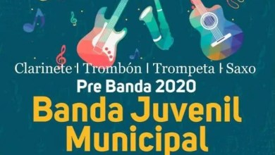 Photo of Banda Juvenil Municipal- inscripción pre banda