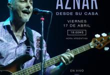 Photo of Pedro Aznar ofrece un nuevo concierto desde su casa