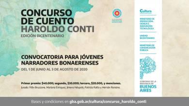 Photo of Concurso de Cuentos Haroldo Conti
