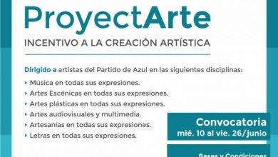 """Photo of Convocatoria para acceder al Incentivo a la Creación Artística """"ProyectArte"""""""
