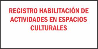 Photo of Registro Habilitación De Actividades En Espacios Culturales