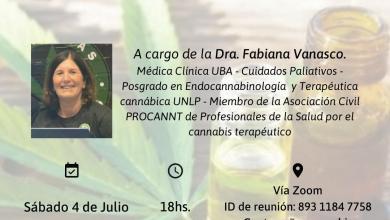 Photo of Charla sobre uso terapéutico del cannabis