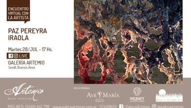Photo of Encuentro Virtual con la Artista Paz Pereyra Iraola